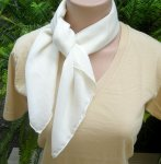 Organic Cotton Voile Mozart Scarf