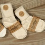 Organic Cuffed Anklet Socks - Infant & Toddler Sizes