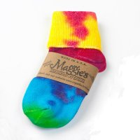 Toddler Tie-Dye Cuffed Anklet Socks