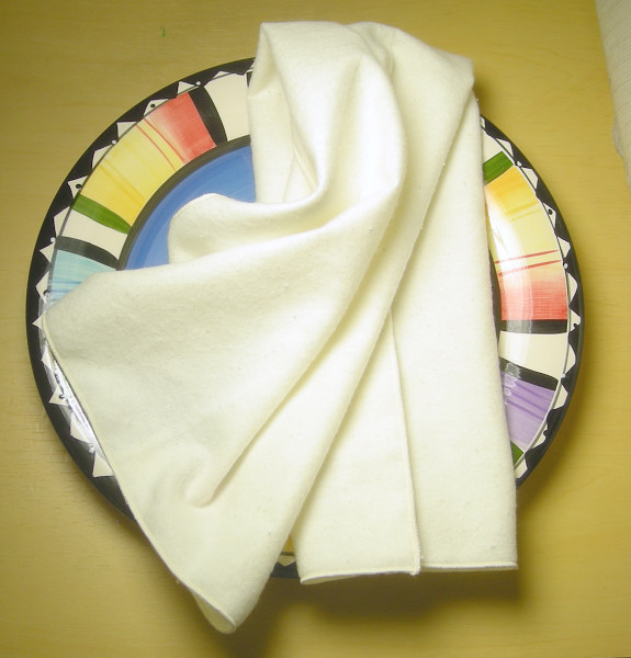 Organic Flannel Kitchen Towel
