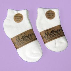 Organic Baby & Toddler Athletic Socks